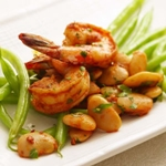 Shrimp and Beans