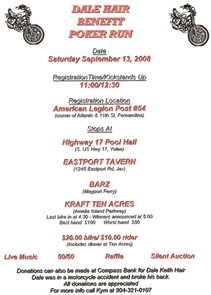 Benefit Ride for Dale Hair