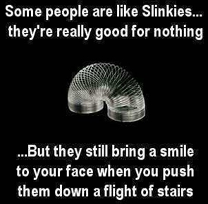 Why Some People are Like a Slinky