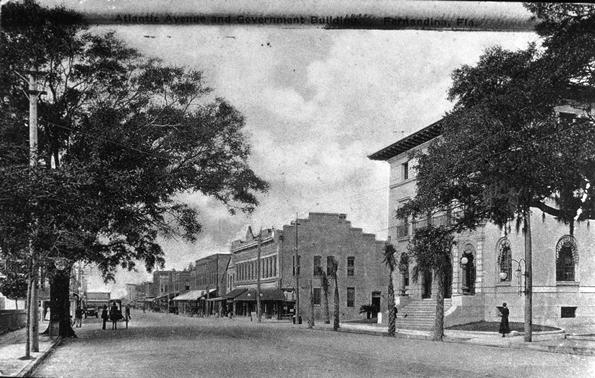 The New Fernandina Post Office