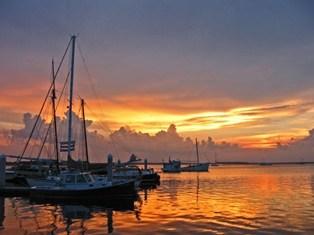 marina-sunset-fernandina-beach
