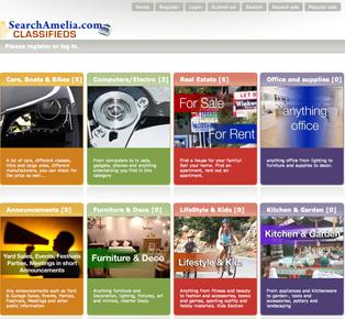 SearchAmelia's NEW Classified Ads