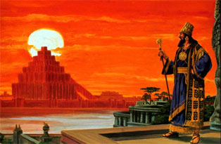 Nebuchadnezzar and the Tower of Babel