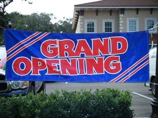 debonair Grand Opening