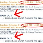 Amelia Island Jazz Festival Dixieland Brunch is Sold Out