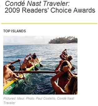 2009 Reader's Choice Conde' Awards