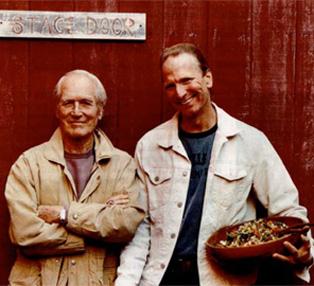 Paul Newman and Michel Nischan
