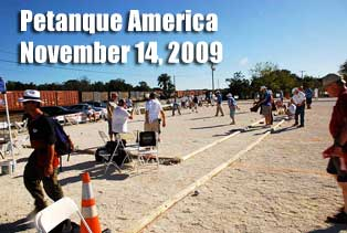 Opening Day Petanque America Open 2009