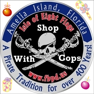 Shop with Cops Program for Fernandina Beach