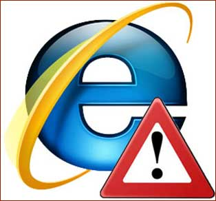 Be Warned: Internet Explorer is the culprit