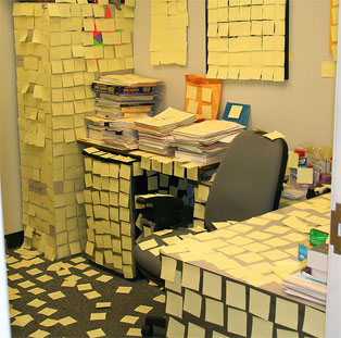 My secretary's Desk
