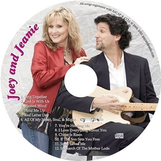 Joey and Jeanie Self Titled CD Available Now