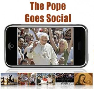 Pope Benedict XVI urges preiest to Blog!