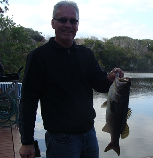 Uncle Gary and his bass