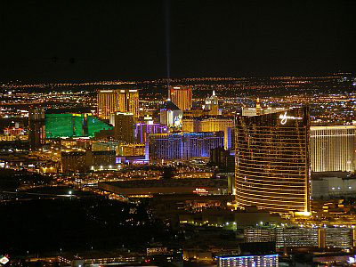 Las Vegas just looks much better at night