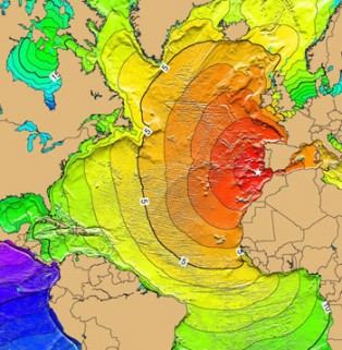 Lisbon Portugal Tsunami 1755