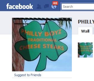 Philly Boyz Facebook Discount