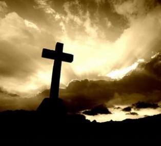 Cross Easter Sky