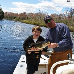 Bass Fishing with Kids