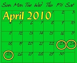 Amelia Island End of April Events