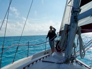 Sailing around Amelia, Cumberland and Saint Marys