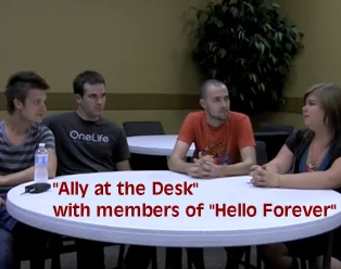 Hello Forever Interview [Video]