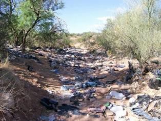 Illegals Trashing Arizona