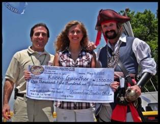 Fernandina Pirates Club Scholarship Winner 2010