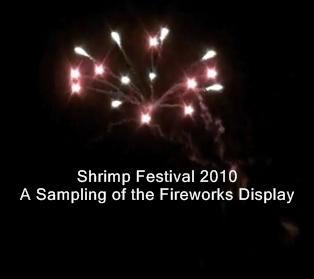 Shrimp Festival Fireworks