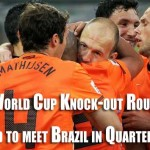 World Cup Soccer Knock-out Round 16 - Day 3-4