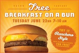 Free breakfast at whataburger searchamelia com