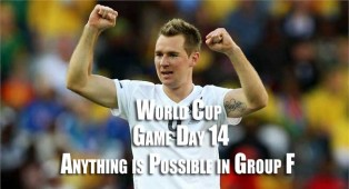 World Cup Group E and F decided today
