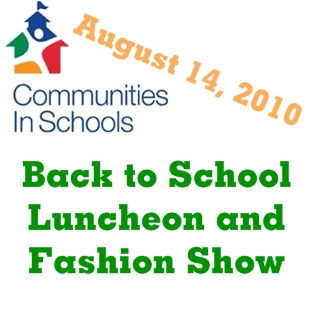 Back to School Luncheon and Fashion Show