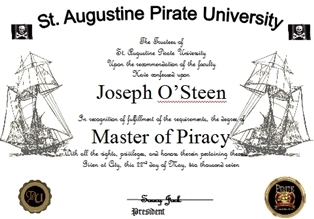 How to Earn Your Degree from Pirate University