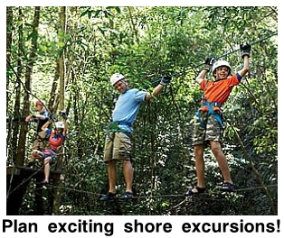 Choose exciting family excursions for your teen