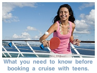Tips for Booking a Cruise with Teenagers