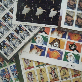 Stamp Collecting is a Hobby for the Family