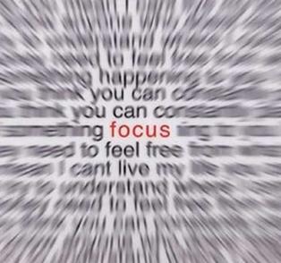 Focus is Key