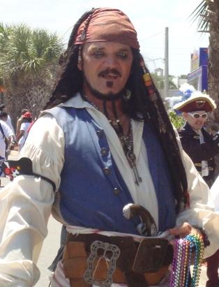 Fernandina Pirates Celebrate Talk Like a Pirate Day 2010