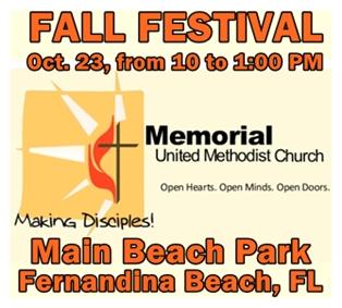 Methodist Church Hosts Fall Festival