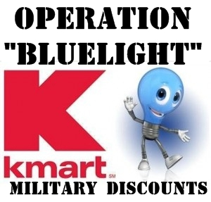 Kmart Offers Operation Bluelight Military Discounts