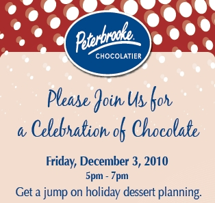 Free Tasting and Celebration of Chocolate