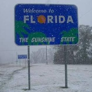 Let it Snow in Florida