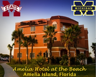 Gator Bowl Fun at Amelia Hotel at the Beach
