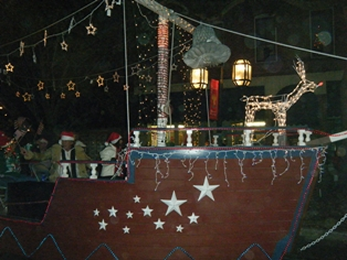 Fernandina Lighted Christmas Parade 2010