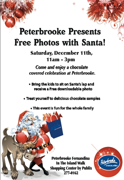 Free Photos with Santa at Peterbrooke