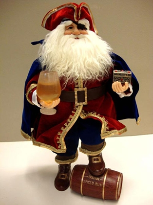 Karen Didion Pirate Santa