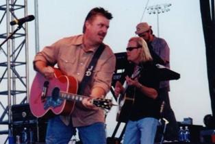 Joe Diffie and Crossin' Dixon at Cotton-Eyed Joe's