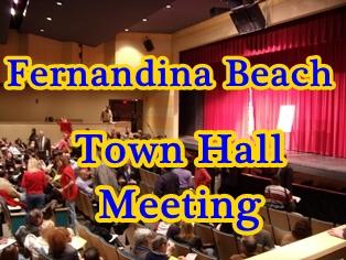 Fernandina Town Hall Meeting