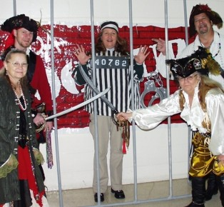 Fernandina Pirates Invade MDA Lock-Up